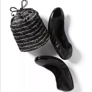 WHBM Ballet Flats Black Size 8.5